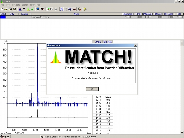 Screen shot of a prototype version of Match! 1 around Christmas 2002